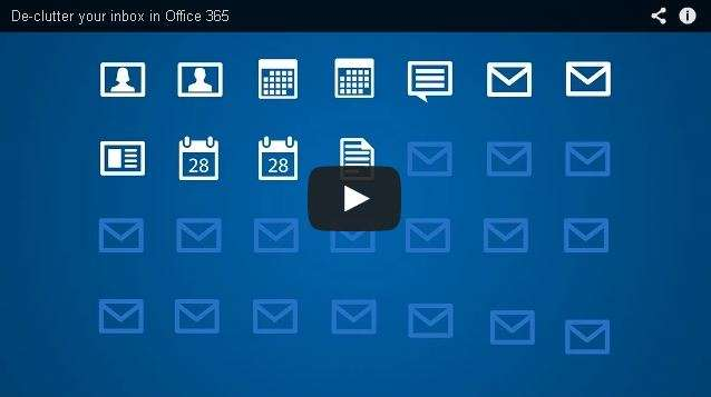 "New ""Clutter"" feature of Office 365 helps control your inbox"